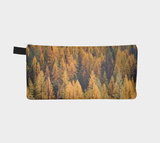 Autumn Tamaracks Zippered Pouch