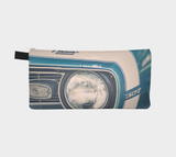Blue Classic Camaro Zippered Pouch