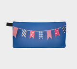 Washi Tape Flags Zippered Pouch