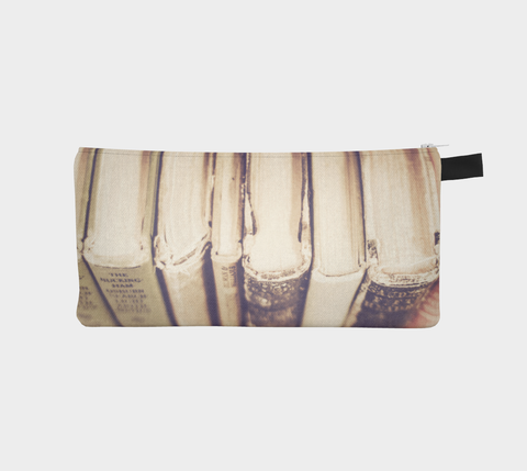 Vintage Books Zippered Pouch