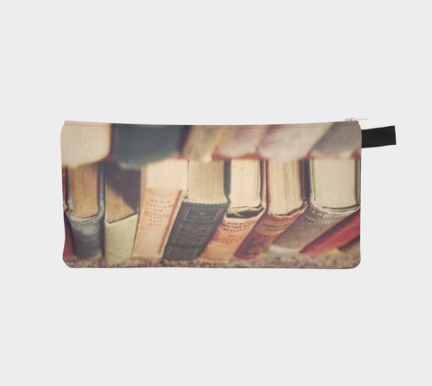 Library Dreams Zippered Pouch