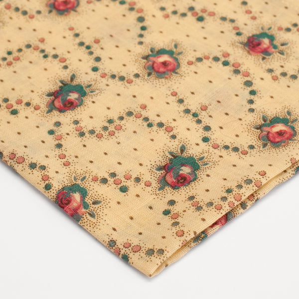 General Knot & Co. 1930's Rose Confetti Pocket Square