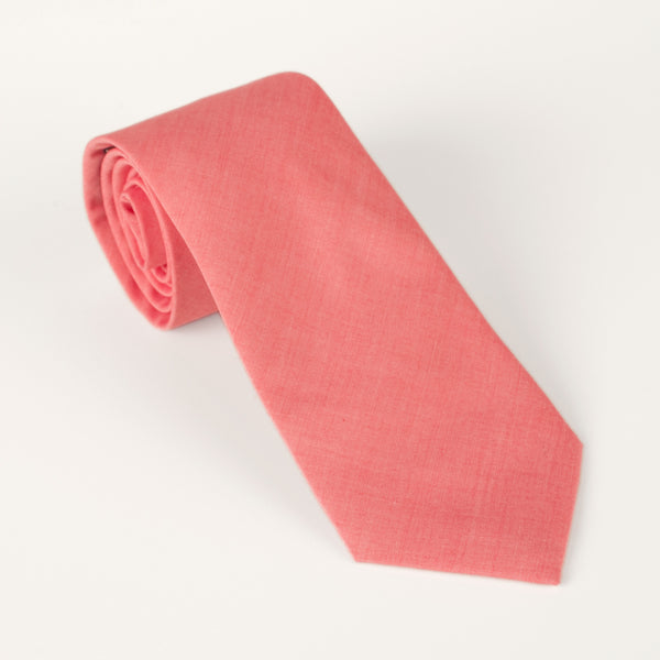 General Knot & Co. Grapefruit End-on-End Tie