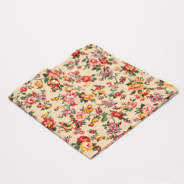 General Knot & Co. Butter Rose Pocket Square