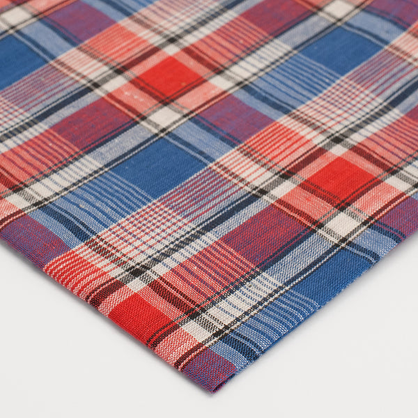 General Knot & Co. 1930's Lubbock Plaid Pocket Square