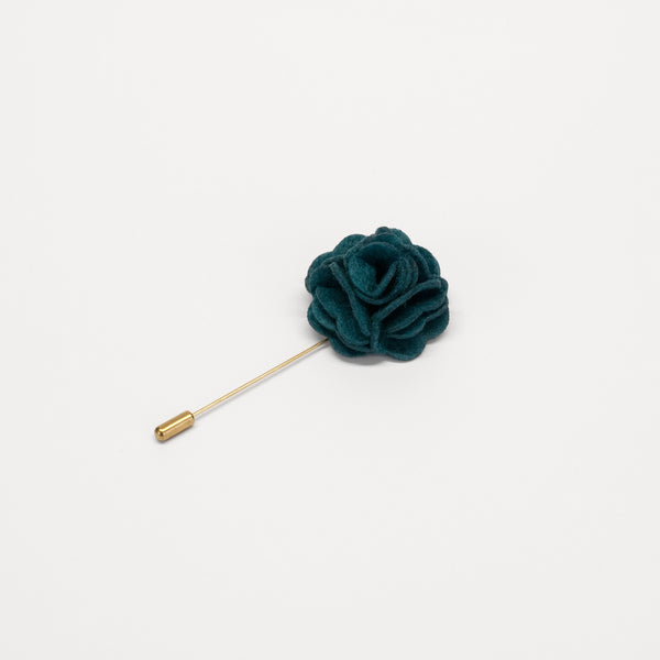 PSC Green Flower Lapel Pin