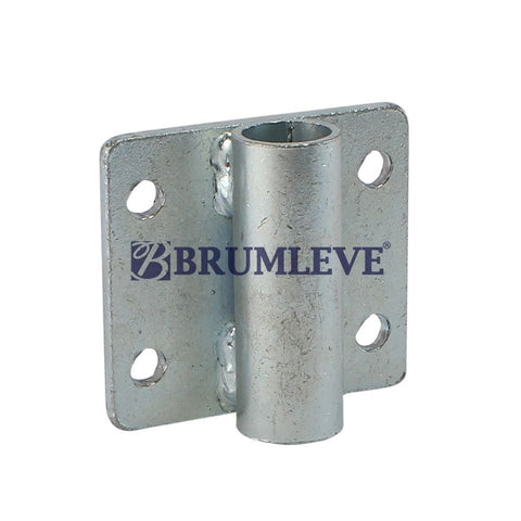 Brumleve® Plated Steel Tarp Bow Bracket