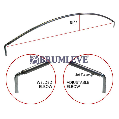 Brumleve® Standard Steel Tarp Bow with Elbows