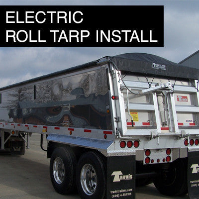 Electric Roll Tarp Installation