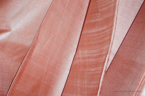 Organic Handwoven Peace Silk Fabric - FQ, Yardage & Bolts - ICE SODA ( Mocha Milk )