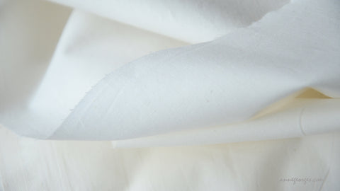 Organic Cotton PERCALE Fabric, Extra Wide, Handwoven - Prepared for Dye, Dyeable Fabric