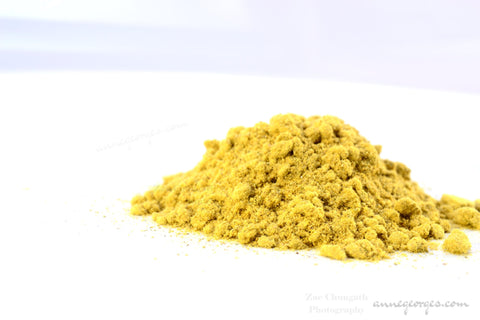 Flame of the Forest / Bastard Teak. Butea Monosperma. Natural dye Powder for fabric, paper & soaps. Tangerines and yellows.