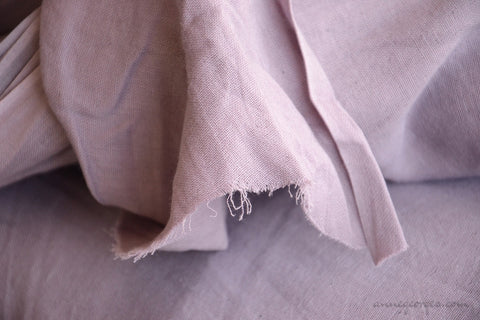 Organic Cotton Double Gauze Fabric - VINTAGE MEMORIES ( Sweet Lavender  )
