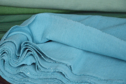 Cotton Ribbed Decor Fabric MALABAR TIDES ( Moody Teal )