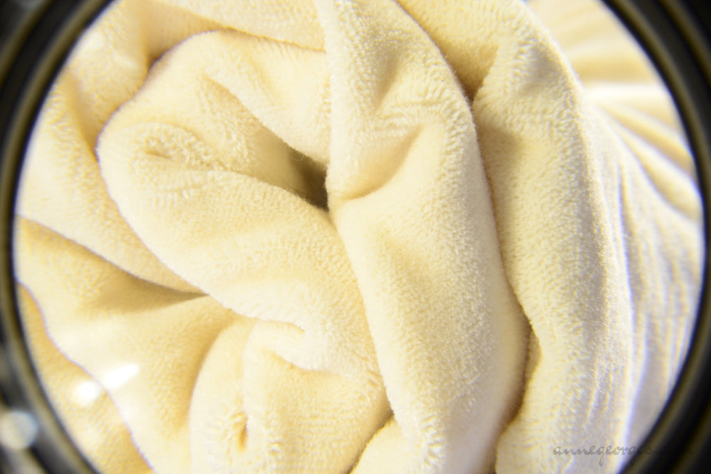 Organic Cotton Velvet Fabric (Unbleached, Dyeable)