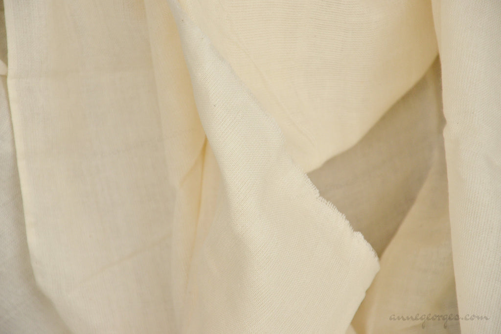 Organic Cotton Double gauze ( Unbleached Dyeable )
