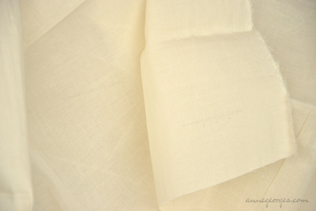 Organic Cotton Stretch Fabric ( Cambric Lycra, Unbleached Dyeable )
