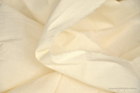 Organic Cotton Stretch Fabric ( Voile Lycra, Unbleached Dyeable )