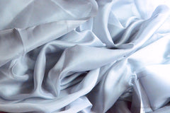 Pure silk organza fabric - FAIRY WINGS ( Rain Dance )