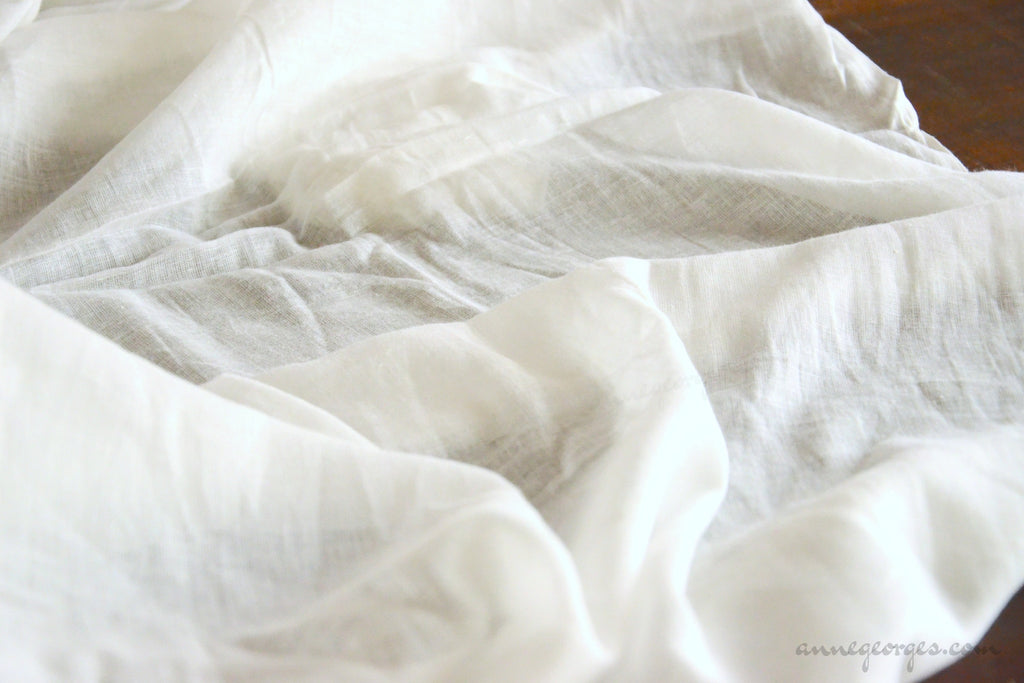 Organic Cotton Gauze 60s ( Prepared for Dye, Dyeable )