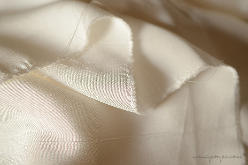 Pure Silk Fabric - MERINGUE SILK ( No 901, Unbleached Dyeable )