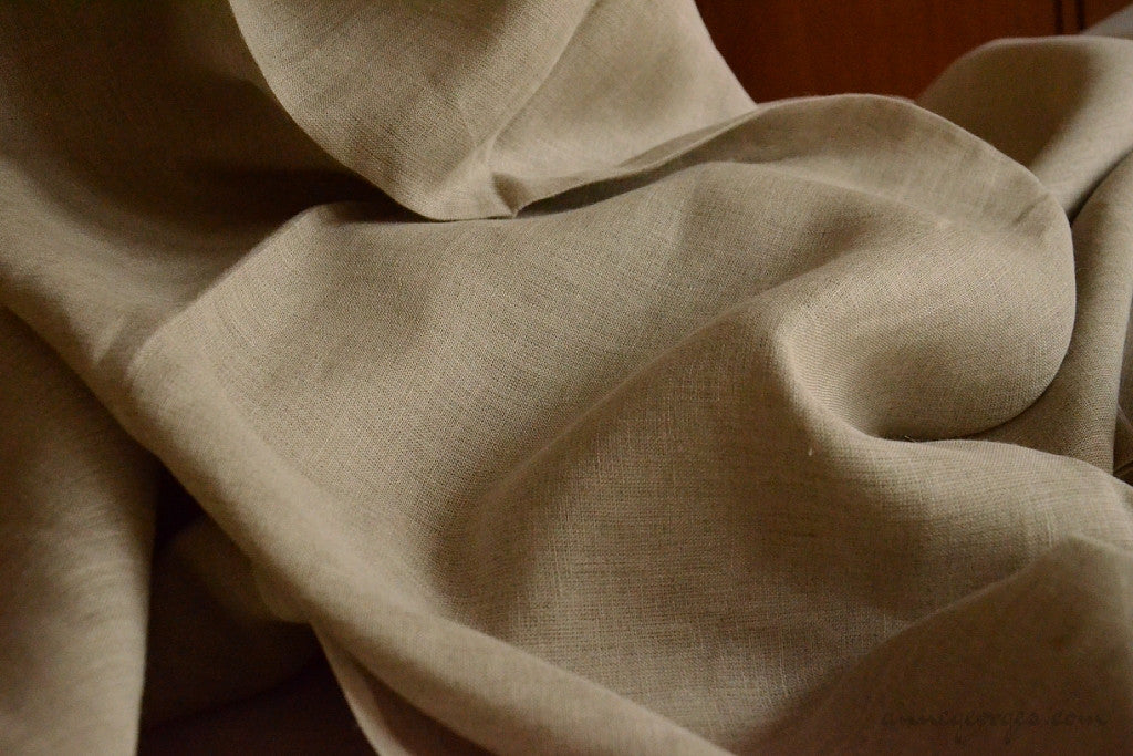Linen 40 lea (Natural Fabric Yardage & Bolts, Unbleached)