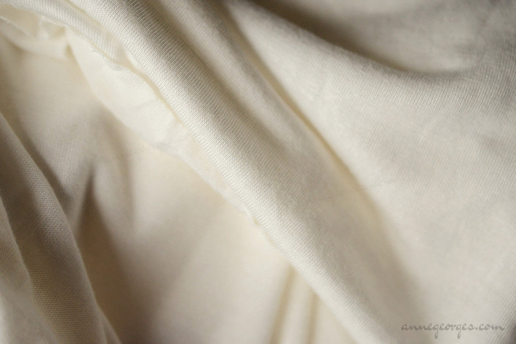 Rayon Cotton Knit Jersey (Natural Fabric Yardage & Bolts, Unbleached)