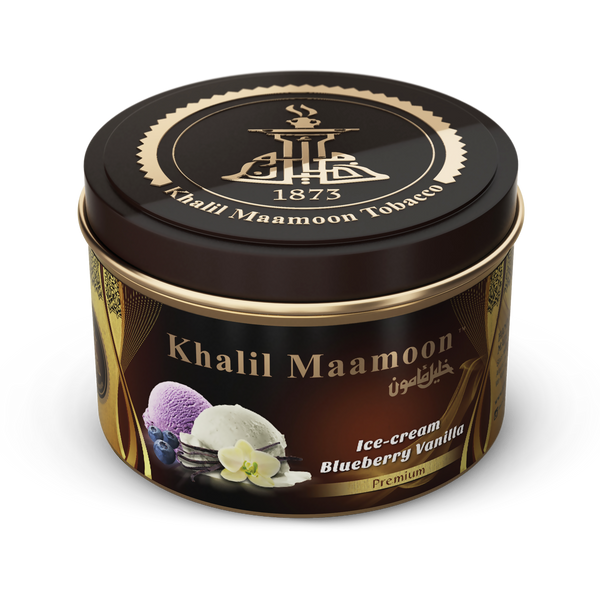 Ice Cream Blueberry-Vanilla by Khalil Maamoon™ Tobacco