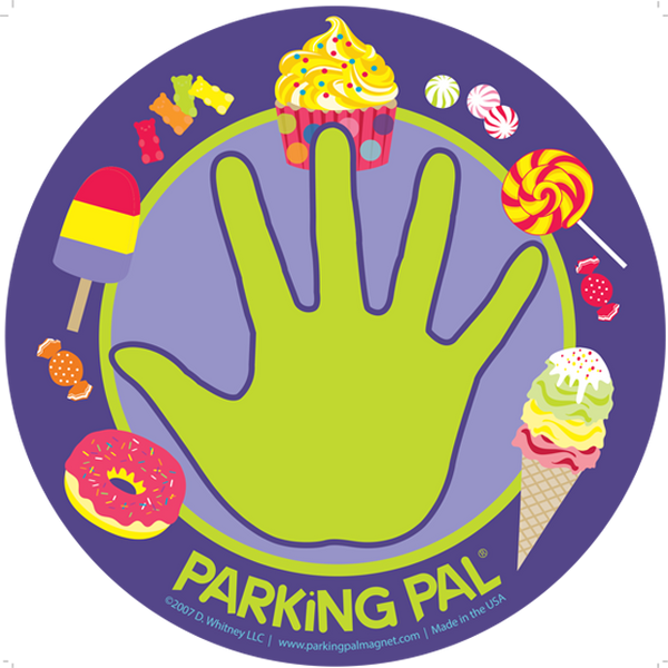 Sweet Treats Parking Pal Car Magnet for Parking Lot Safety