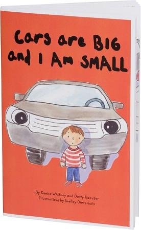 safety book for toddlers teaches car safety and parking lot safety tips