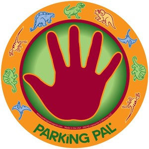Dinosaur Parking Pal Car Magnet for Parking Lot Safety