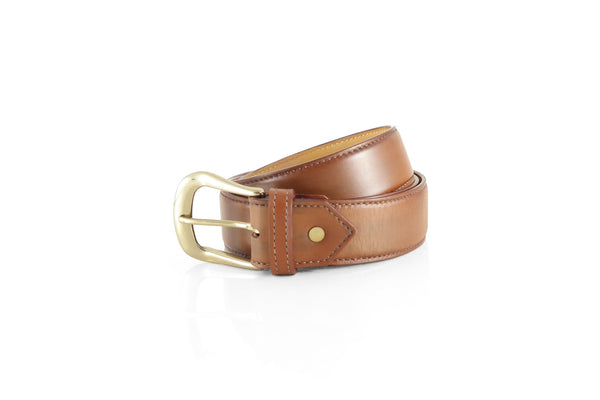 Round Gold Buckle Belt