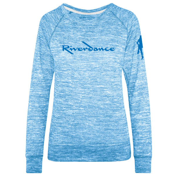 Riverdance Women's True Blue Carefree Crew Long Sleeve