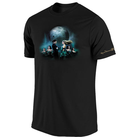 Riverdance Black Tee w Couple