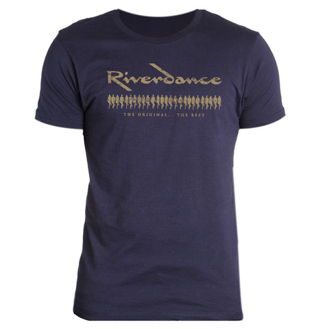 Riverdance Navy Dance Line Tee