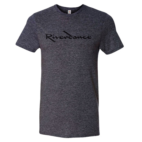 Riverdance Heather Charcoal Title Tee