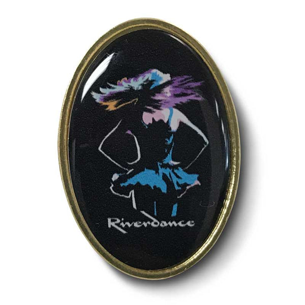 Riverdance Lapel Pin