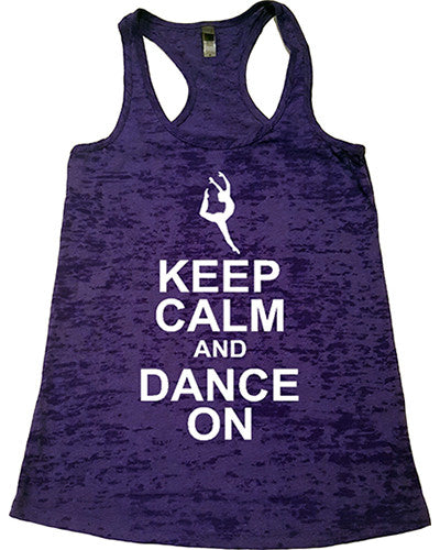 Dance Tanks - Burnout Racerback