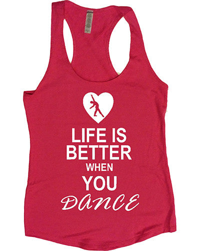 Dance Tanks - Terry Racerback
