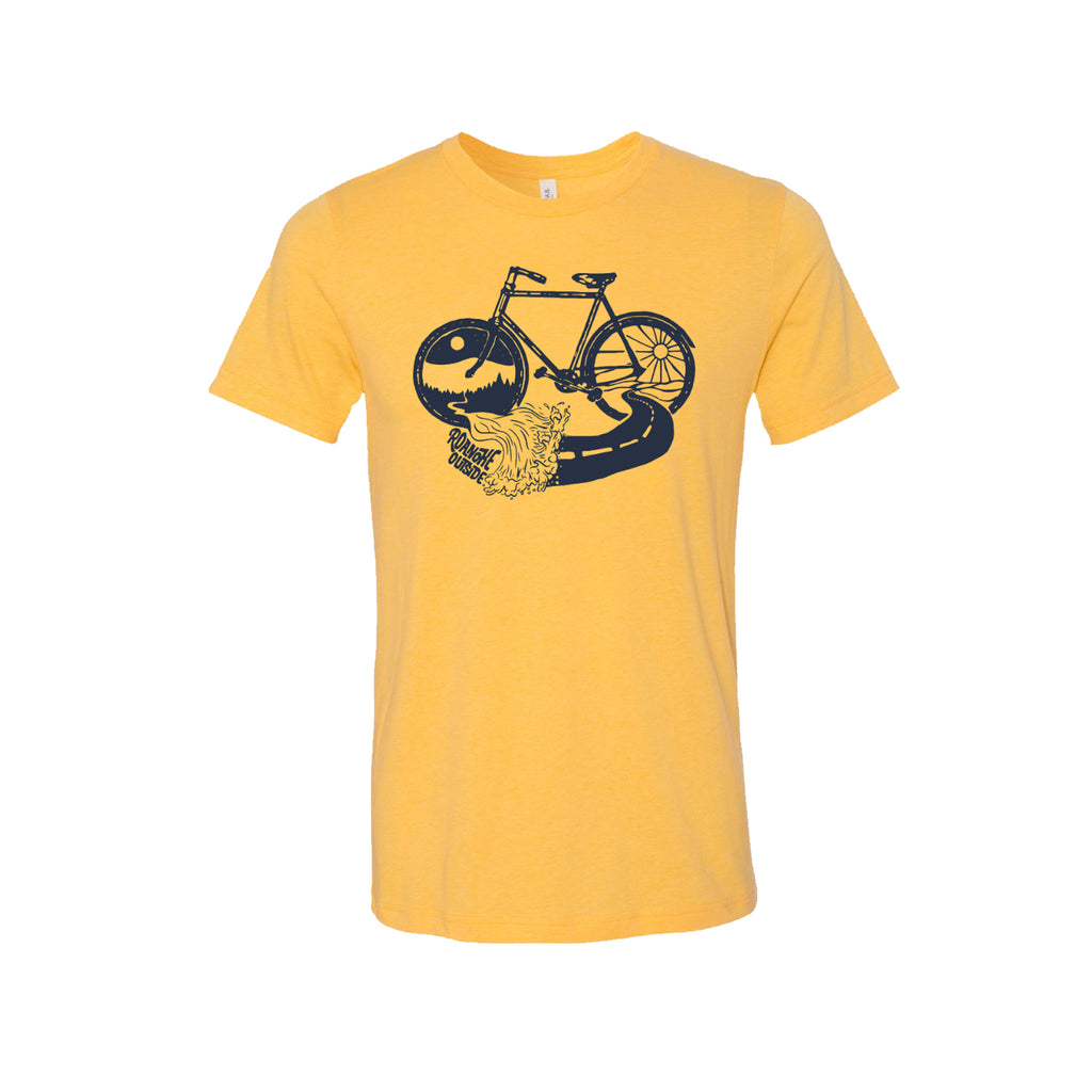 Roanoke Outside T-Shirt - Yellow