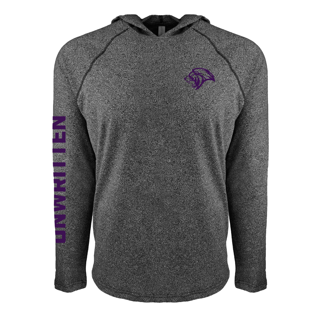 CFU Long Sleeve Lightweight Hooded Pullover - Purple Ink