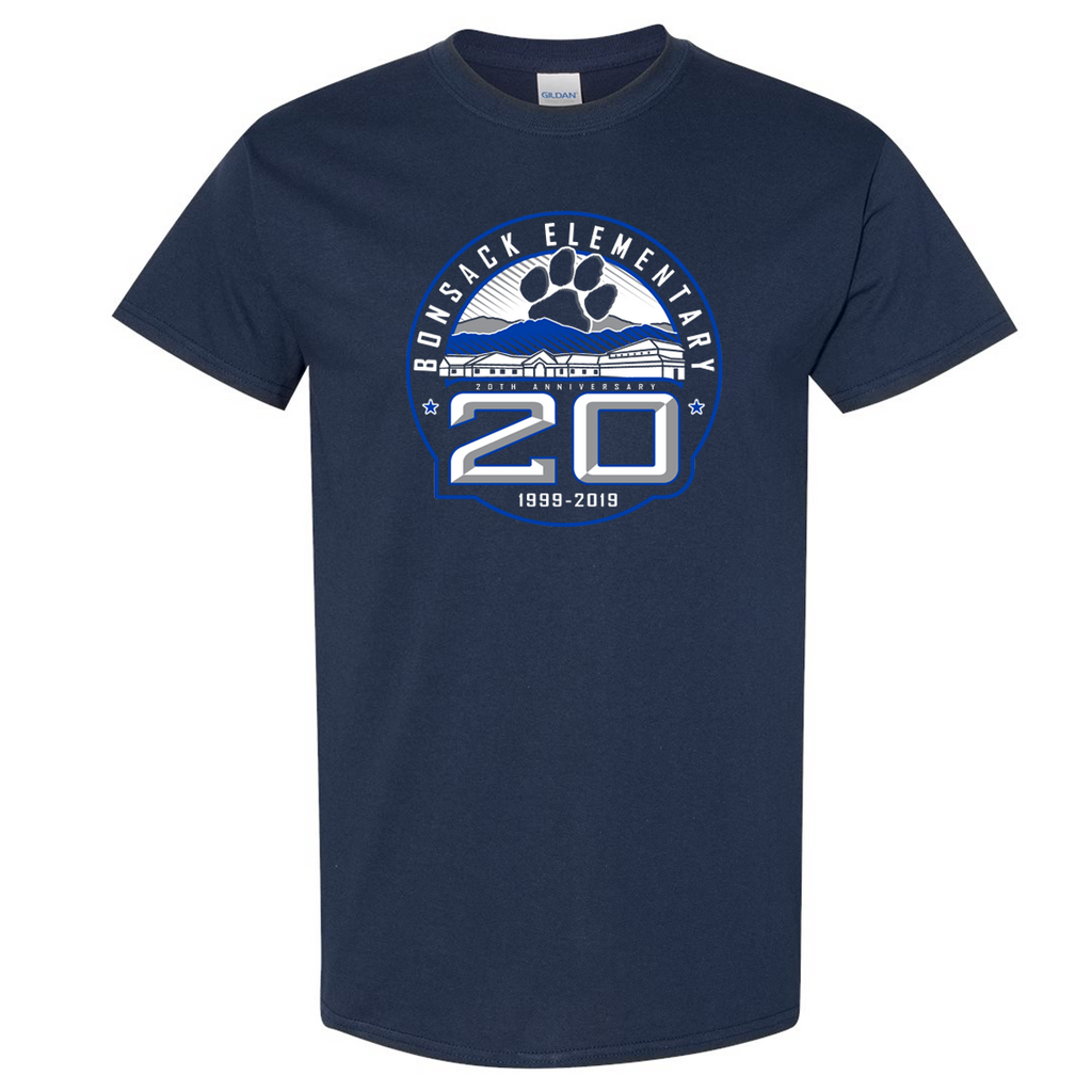 Bonsack 20 Years Tee - Youth & Adult Sizes!