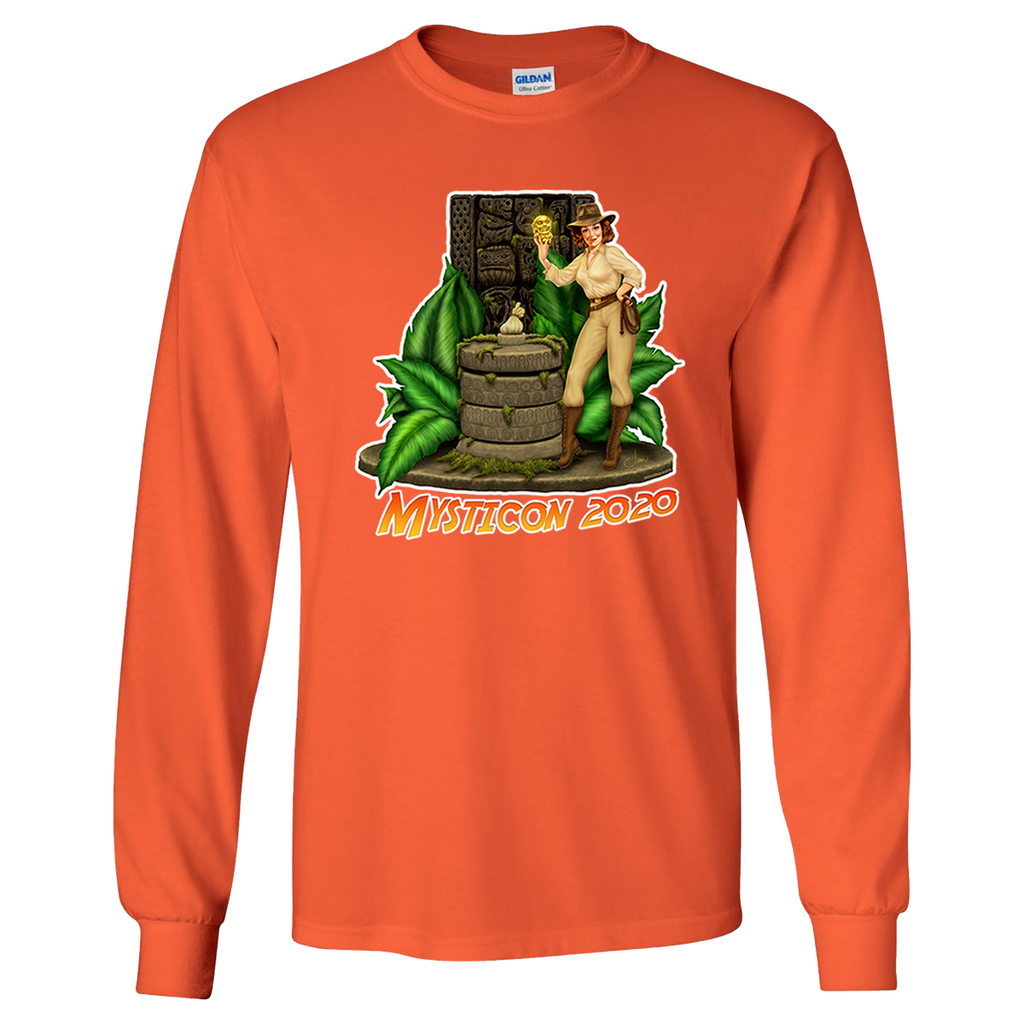 Mysticon Long Sleeve T-Shirt - Orange