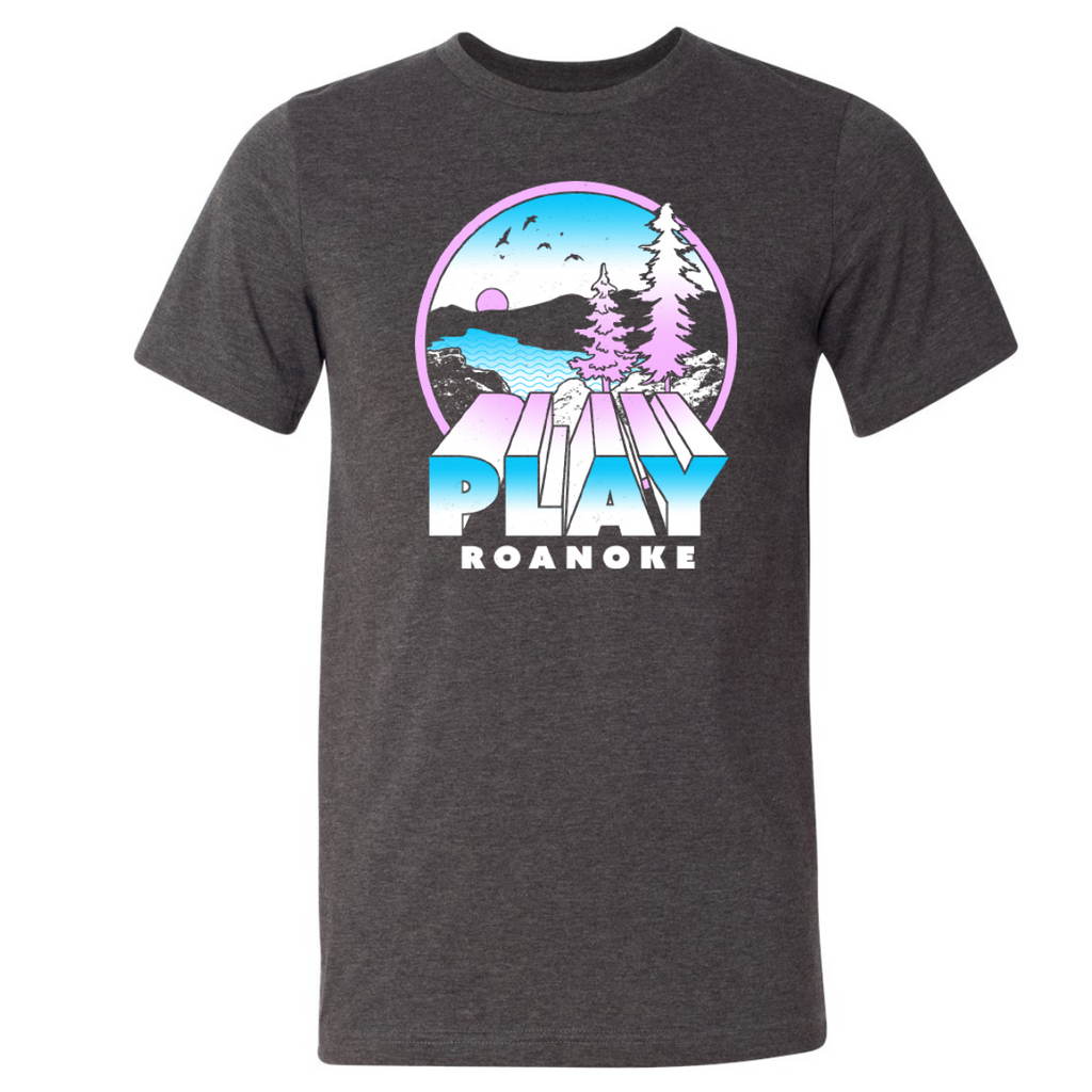 PLAY Roanoke Carvins Unisex Tee- 2 Colors!