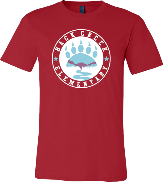 SUPER SOFT Back Creek Cirlce T-Shirt - Red