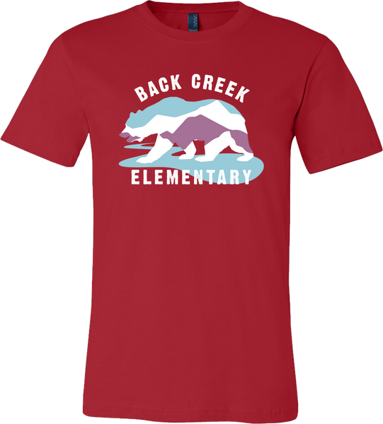 SUPER SOFT Back Creek Classic T-Shirt - Red