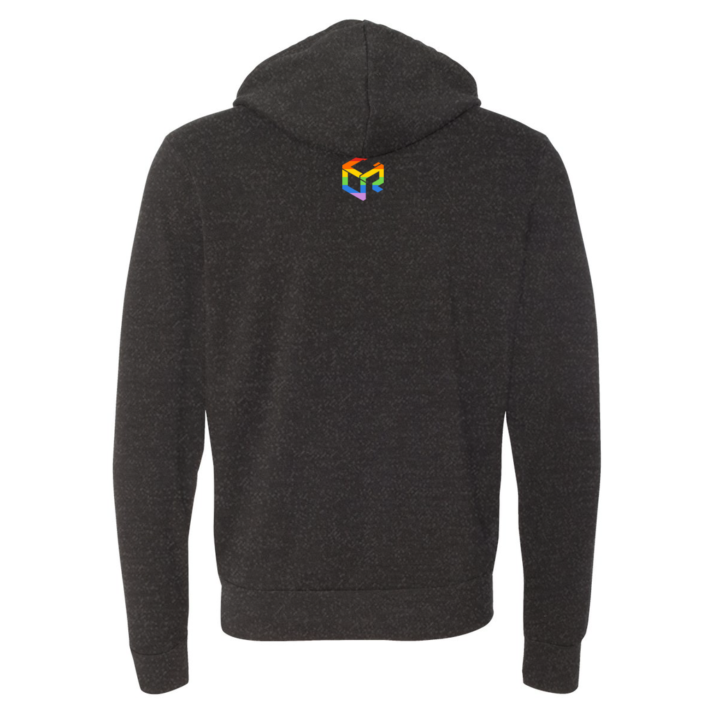Unify Pride 2019 - Canvas Spong Fleece Hooded Sweatshirt