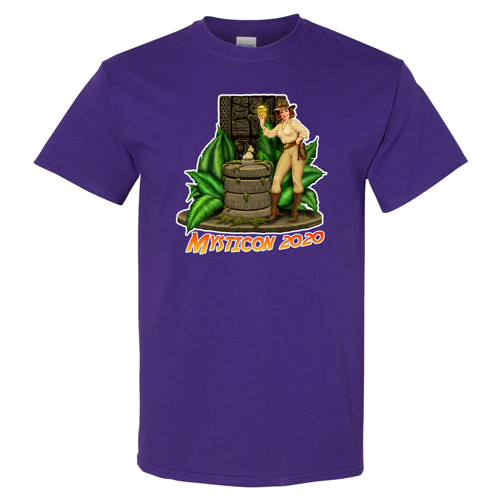 Mysticon Short Sleeve - Purple