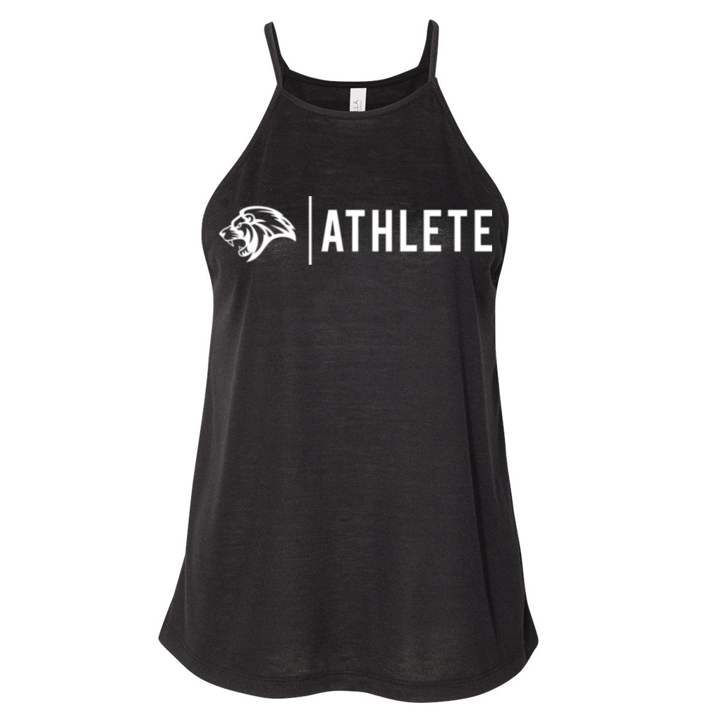 Crossfit Unwritten Athlete Design- Ladies Tank, Black
