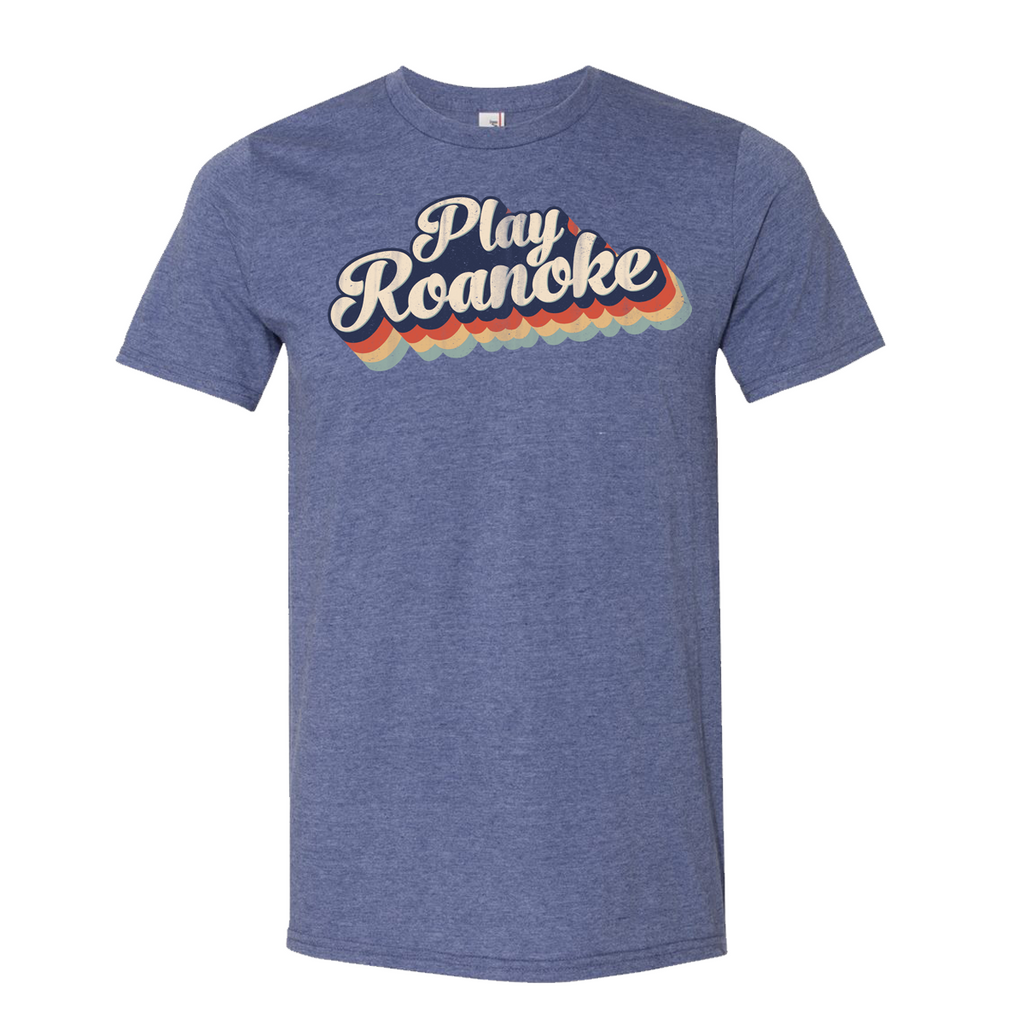 PLAY Roanoke Unisex T-shirt - Available in Youth & Adult Sizes